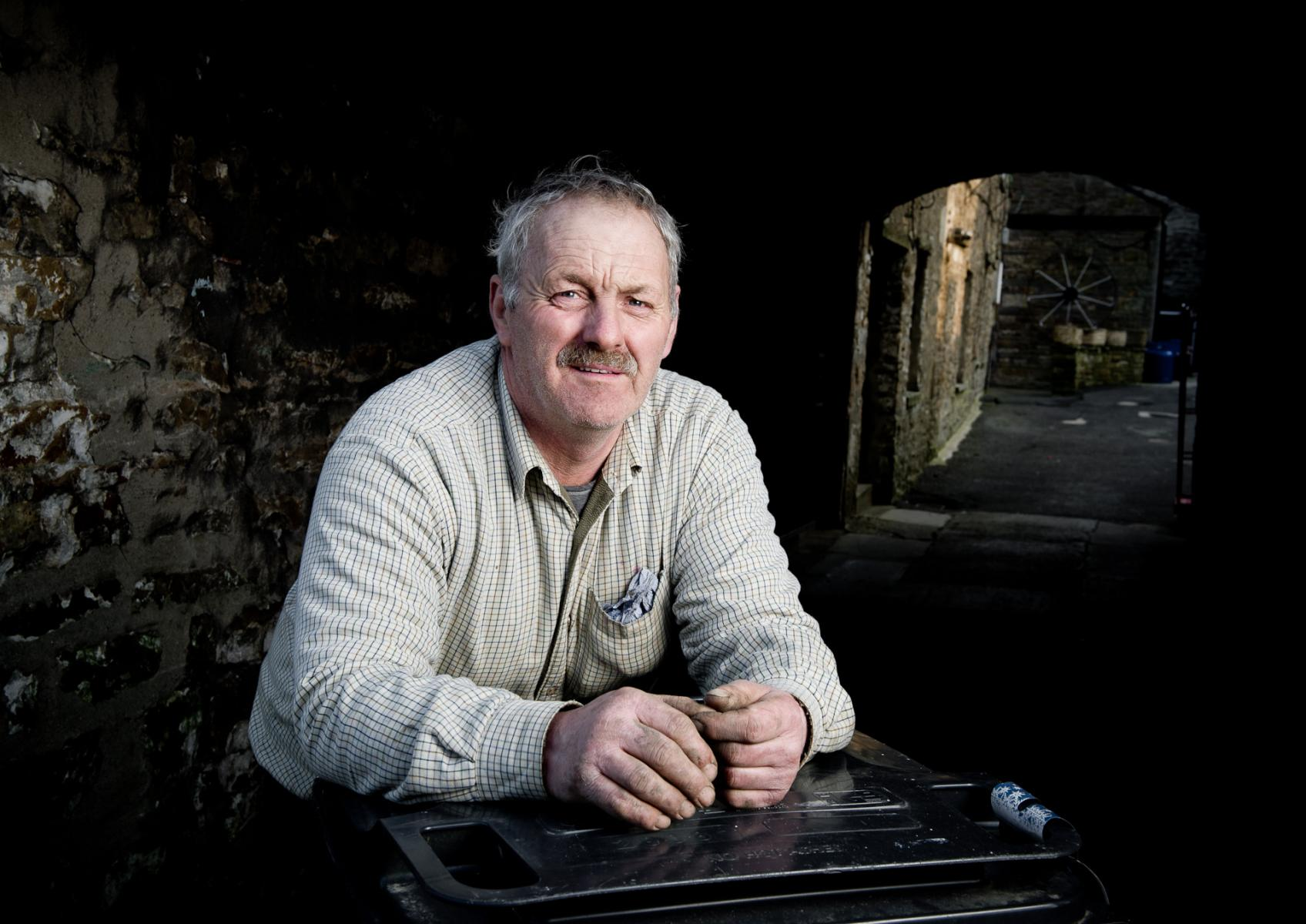 Alan Blades,  farmer and property owner
